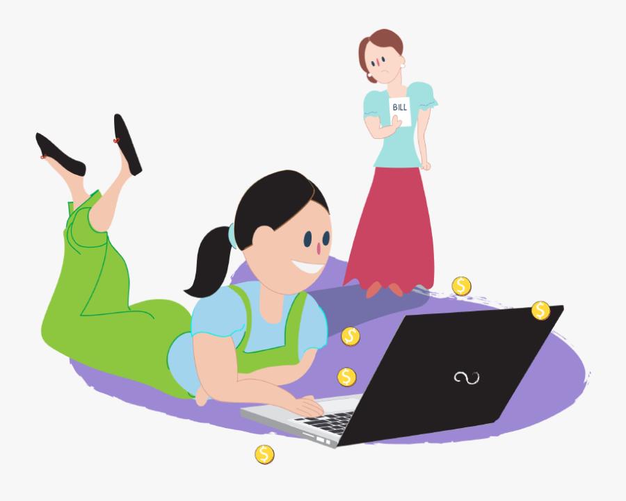 Being Safe On The Internet - Talking Safely Online, Transparent Clipart