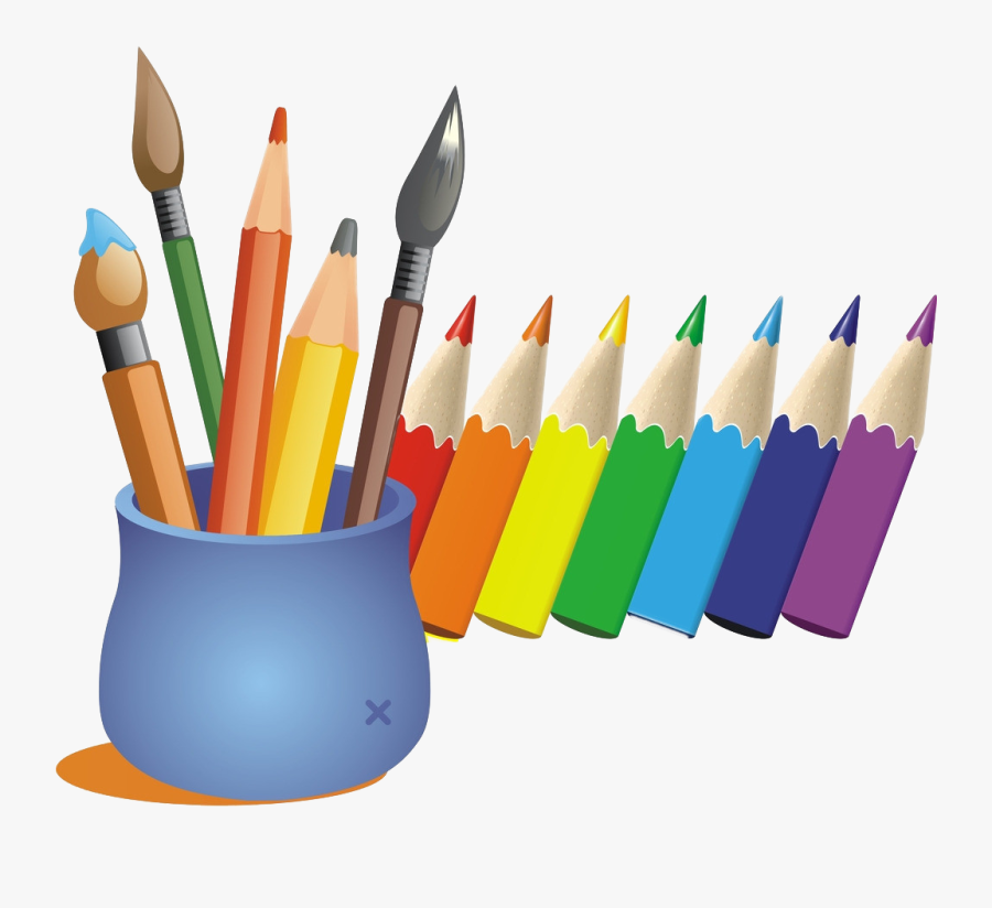 Cartoon Color Pen Transprent - Colour Pencil Cartoon Png , Free Transparent  Clipart - ClipartKey