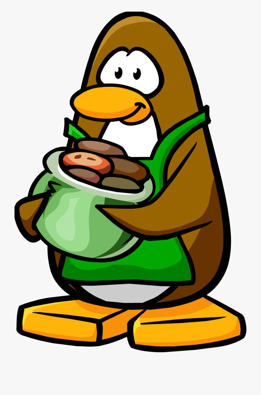Club Penguin Wiki - Club Penguin Coffee Guy, Transparent Clipart