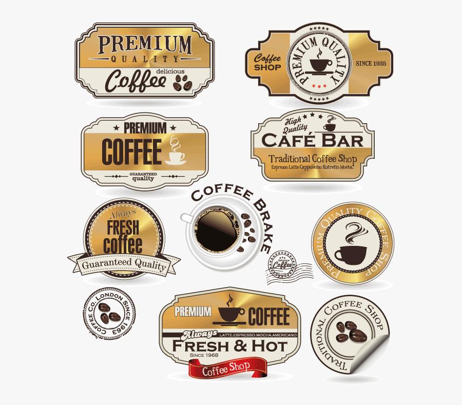 Coffee Label Png - Coffee Logo Design Italian, Transparent Clipart