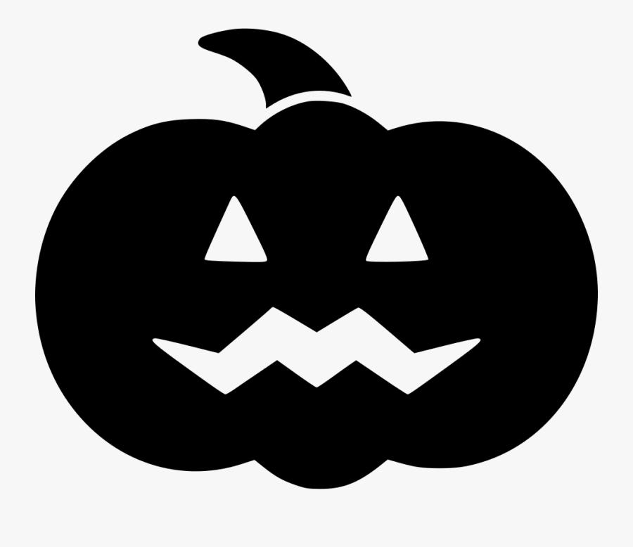 Carved Decoration Glowing Halloween Lantern Pumpkin - Halloween Pumpkin Clipart Black, Transparent Clipart