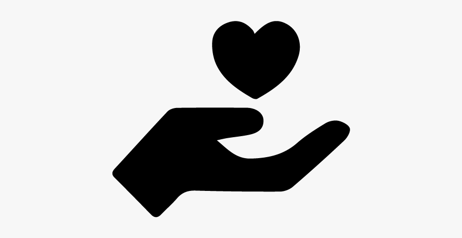 Giving Hand Logo Png, Transparent Clipart