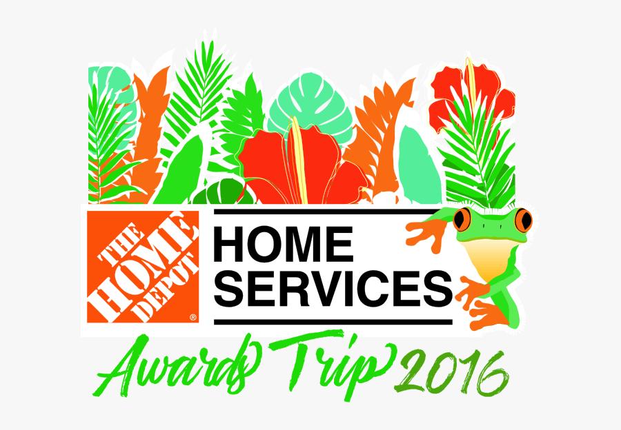 Home Services Logo Home Depot Canada, Transparent Clipart