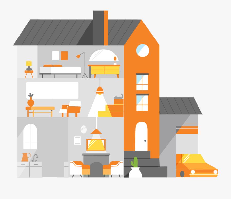 House, Transparent Clipart