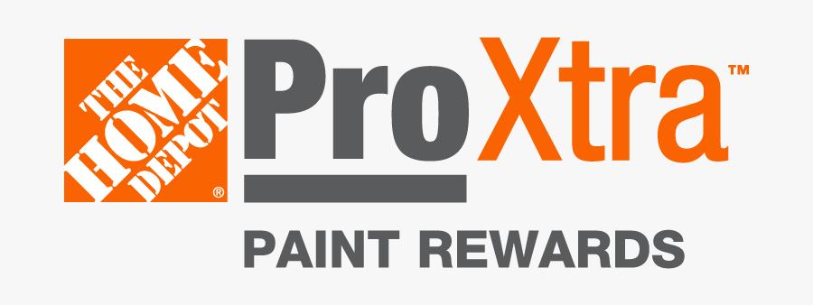 Logo Home Depot Pro, Transparent Clipart