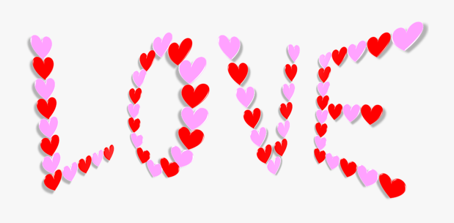 """Valentine, Valentine""""s Day, Hearts, Love, 3d, Rotations - Valentines Day Hearts, Transparent Clipart"""