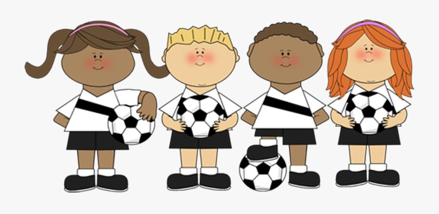 Transparent Soccer Player Clipart - Kids Soccer Clipart, Transparent Clipart