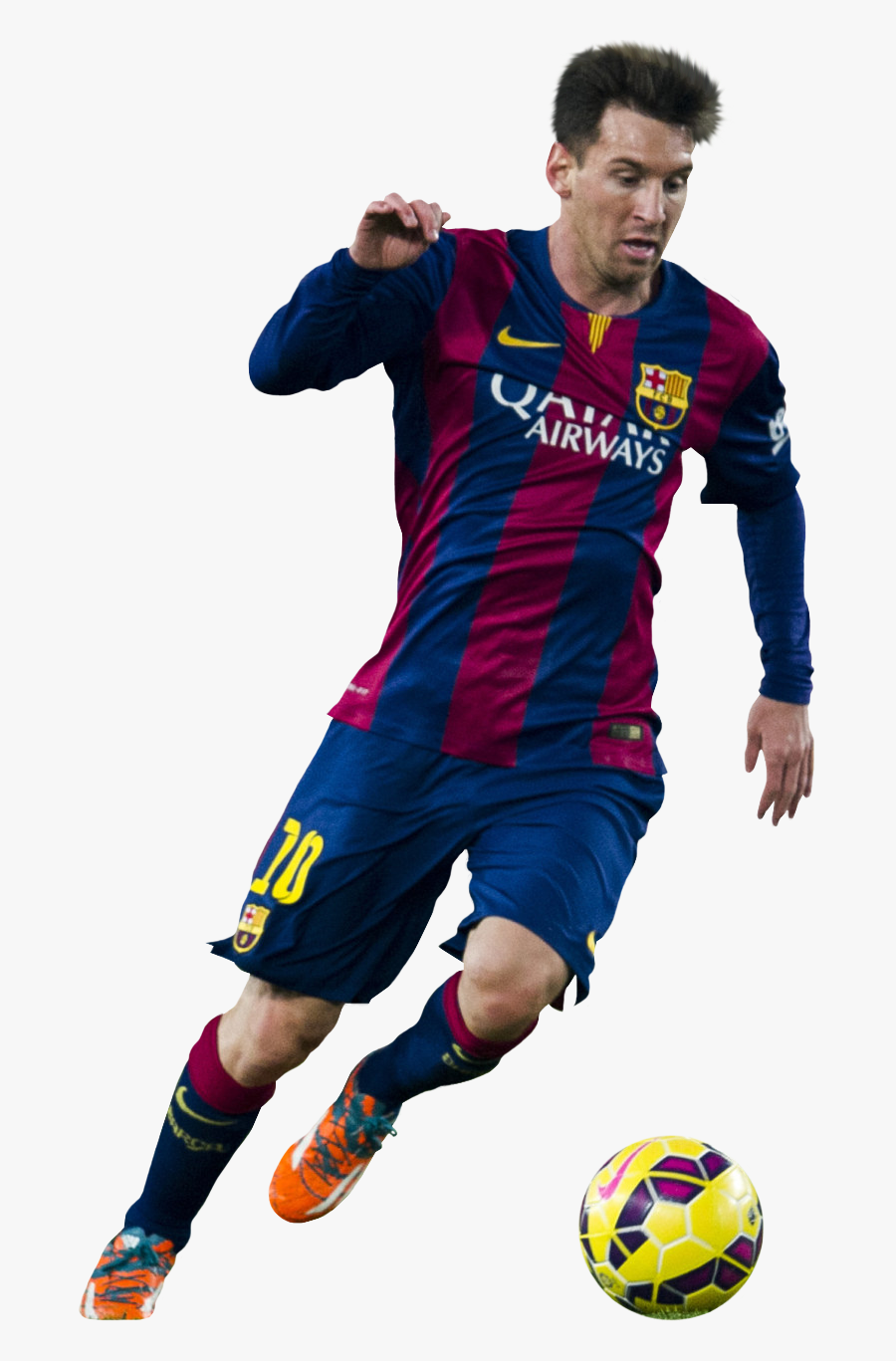 Messi Png - Messi Football Player Png, Transparent Clipart