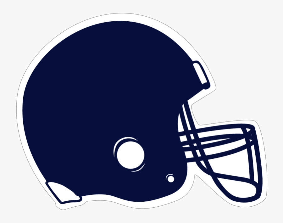 Football Helmet Collection Of Blue Clipart Clip Art - Black Football Helmet Clipart, Transparent Clipart