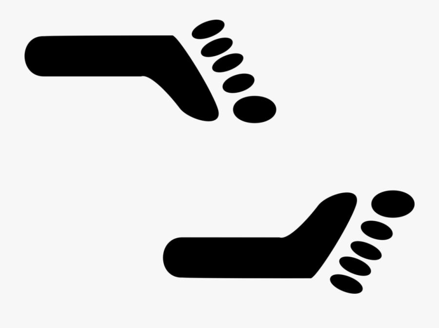Kisscc0 Foot Aztec Mexico Computer Icons Symbol Feet - Huellas De Pies Mexicas, Transparent Clipart