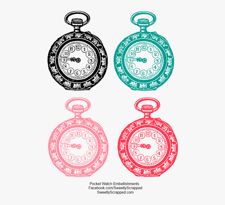 Picture - Free Printable Alice In Wonderland Clocks, Transparent Clipart