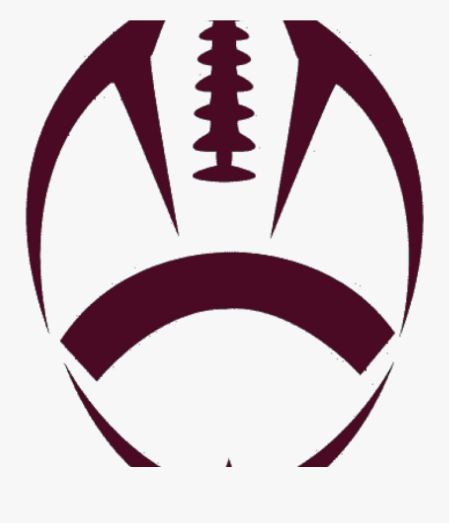 Png Football Laces - Clip Art Football Outline , Free ... (900 x 1048 Pixel)
