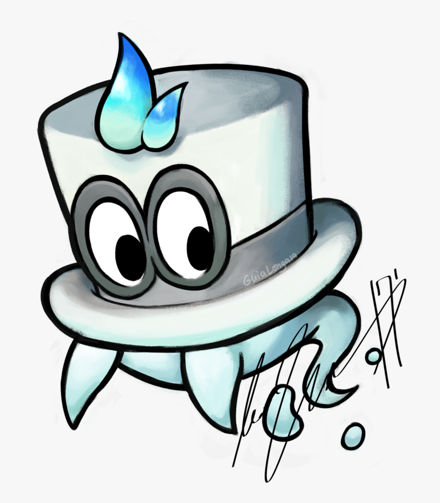 Cappy Superstar Saga Style By Whatifgirl Super Mario Odyssey Drawing Free Transparent Clipart Clipartkey
