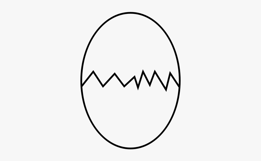 """Cracked Egg Rubber Stamp""""  Class=""""lazyload Lazyload - Circle, Transparent Clipart"""