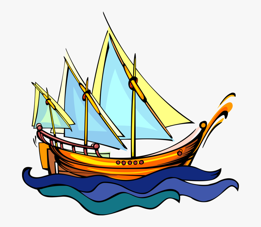 Viking Ship Clipart Traditional - Traditional Ship Png, Transparent Clipart