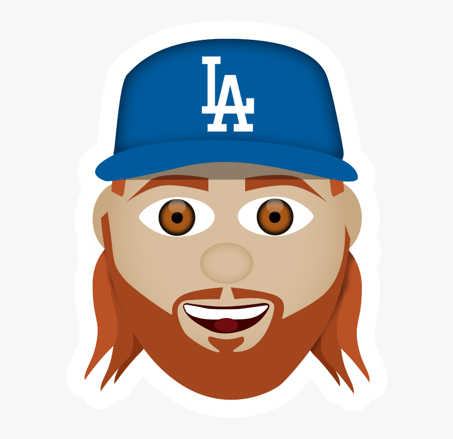 Image-1 - Los Angeles Dodgers, Transparent Clipart