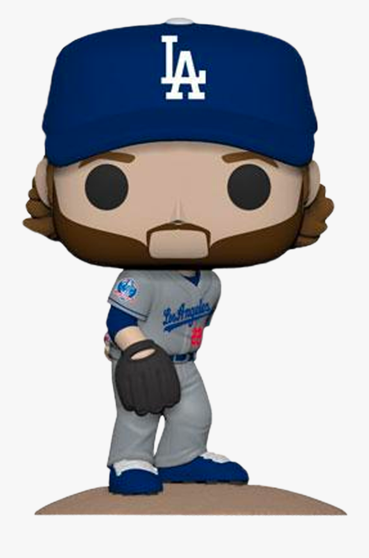 Clayton Kershaw L - Los Angeles Dodgers Funko Pop, Transparent Clipart