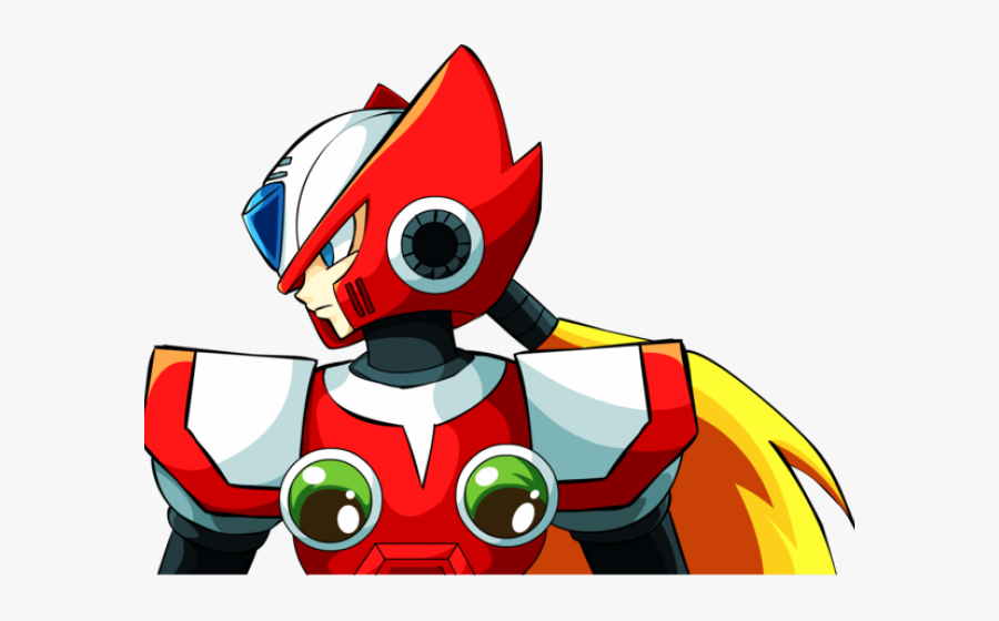 Megaman Clipart Zero - Zero Mega Man X, Transparent Clipart