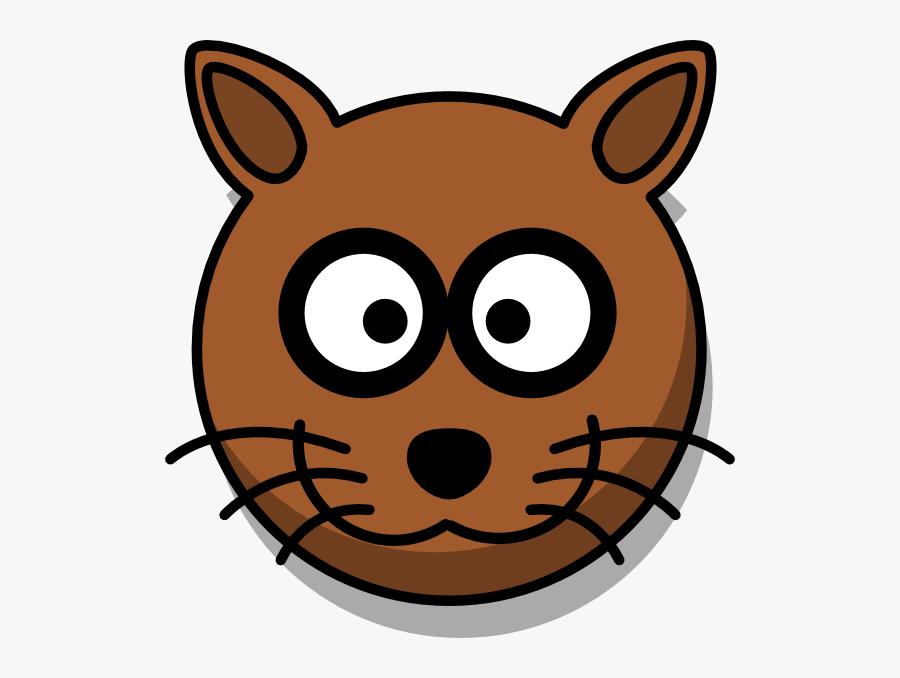Clip Art Tiger Face, Transparent Clipart