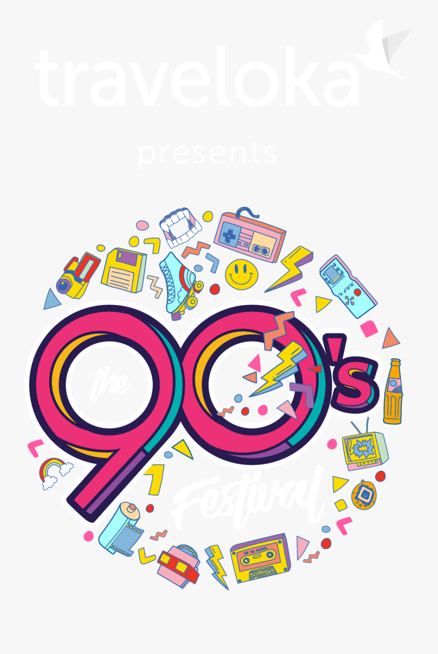 90s Festival 2019 Jakarta, Transparent Clipart