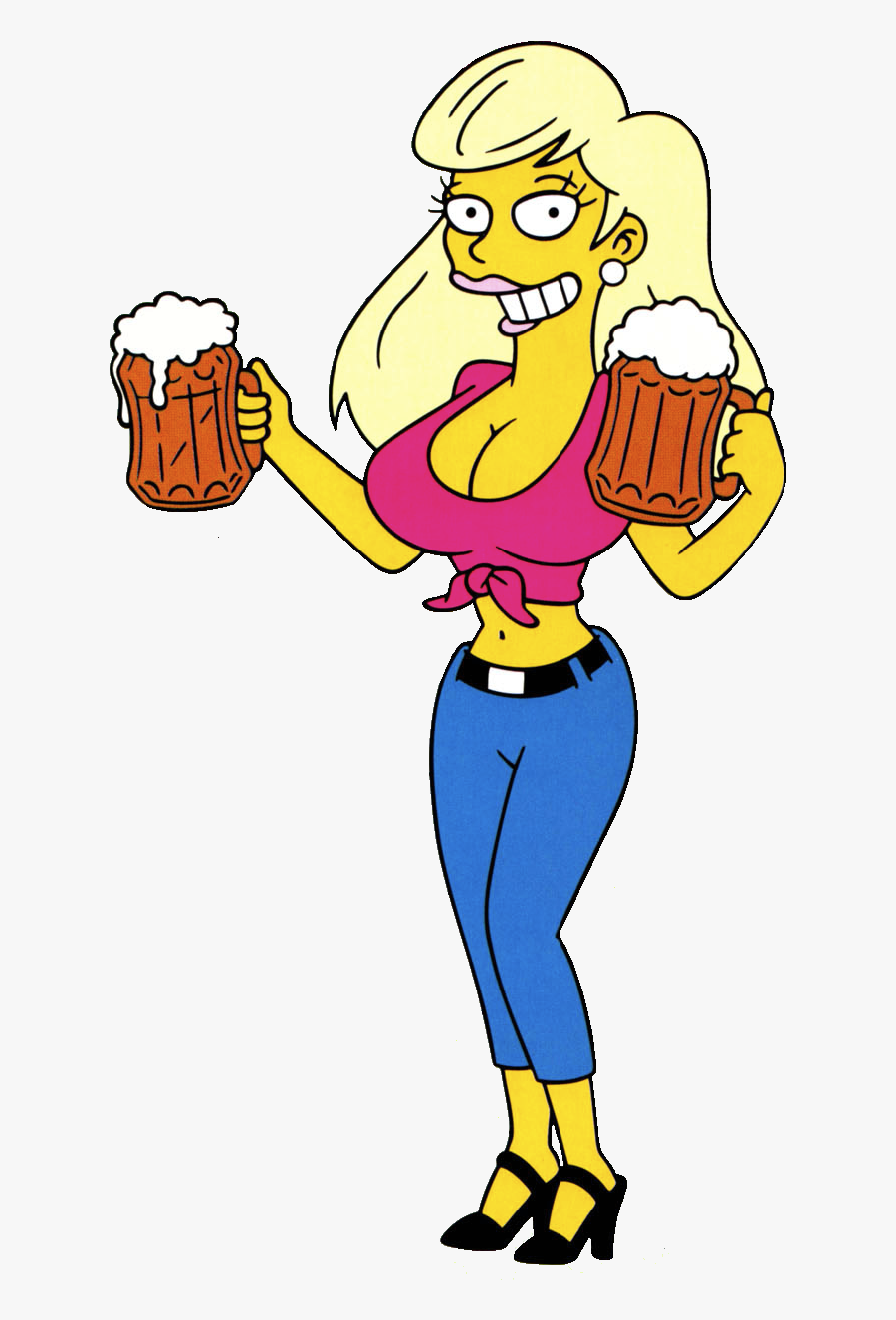 #boobies #sexy #woman #trentino #beer #drunk #hot #hottie - Titania Simpsons, Transparent Clipart