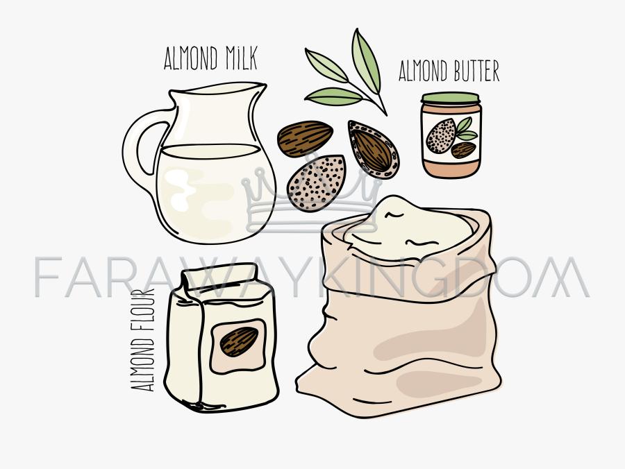almond flour clip art free transparent clipart clipartkey almond flour clip art free