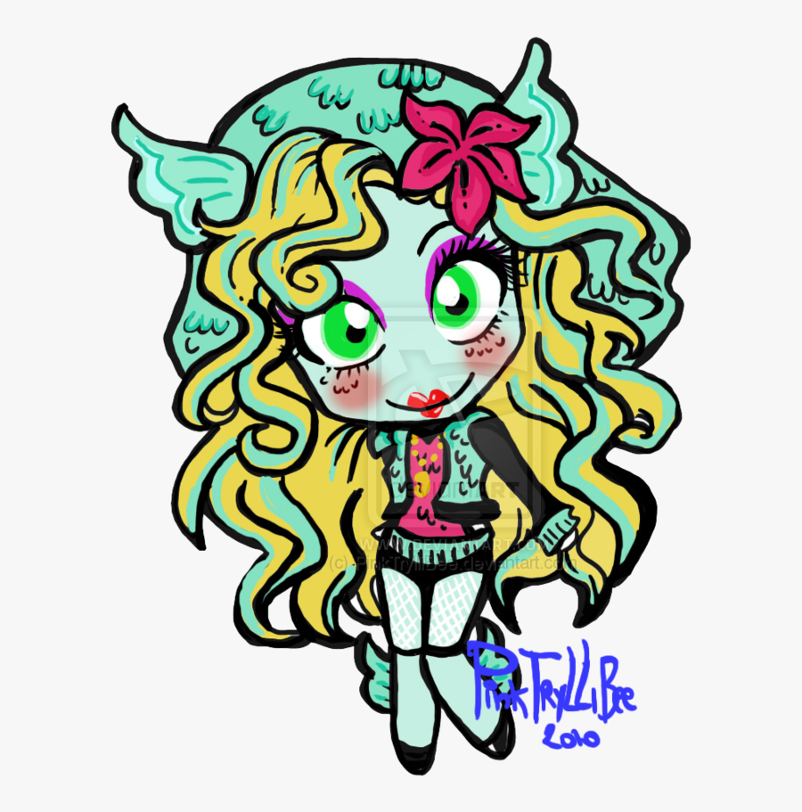 How To Draw Monster High Pictures - Chibi Monster High, Transparent Clipart