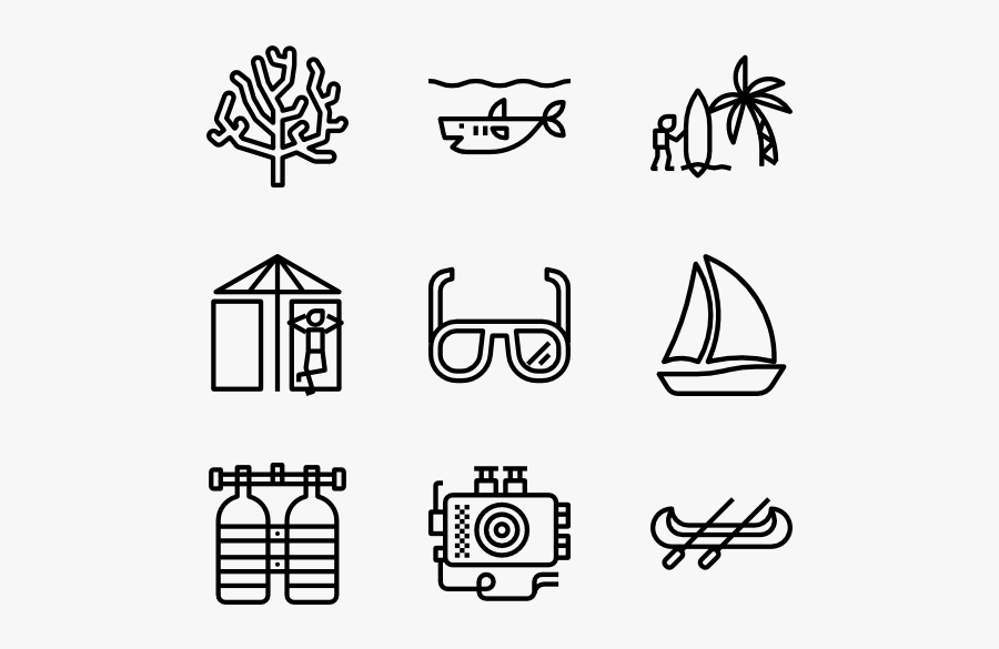 Diving Hobbies Icons Png Free Transparent Clipart Clipartkey