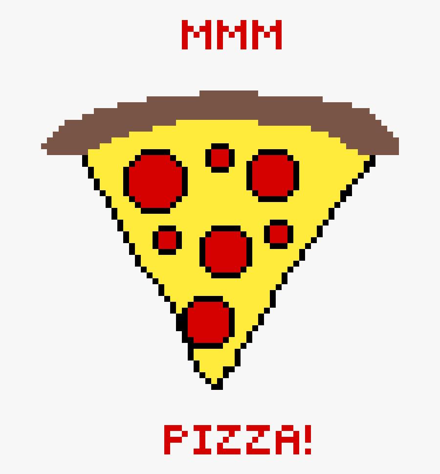 #pizza #pepperoni #pixilart Clipart , Png Download, Transparent Clipart