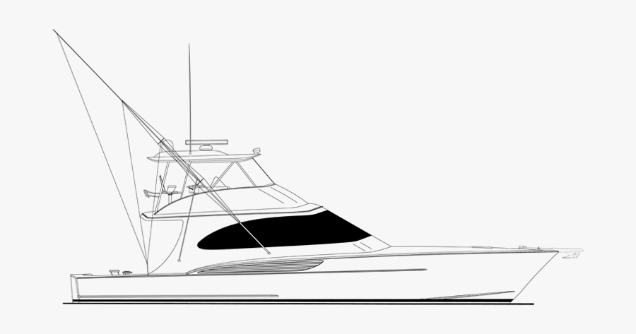 Bay Drawing Ocean Boat Sport Fishing Boat Drawing Free Transparent Clipart Clipartkey
