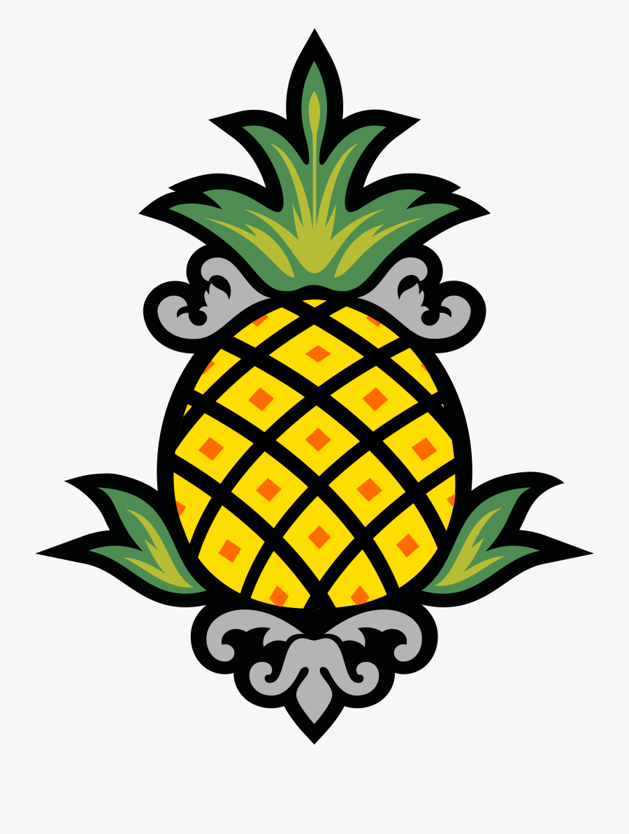 Pineapple Clipart Character - Stay Pineapple, Transparent Clipart