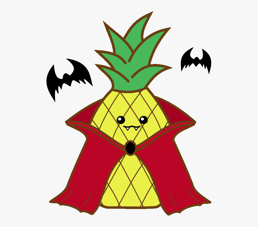 Pineapple Clipart Kawaii - Pineapple, Transparent Clipart