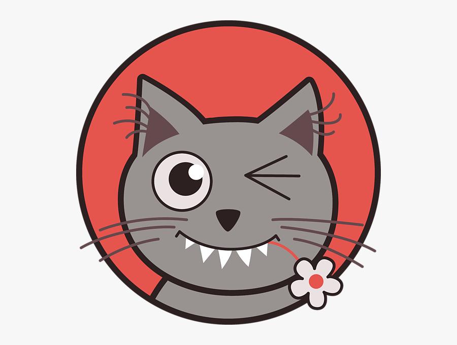 Cartoon Kitty Cats, Transparent Clipart
