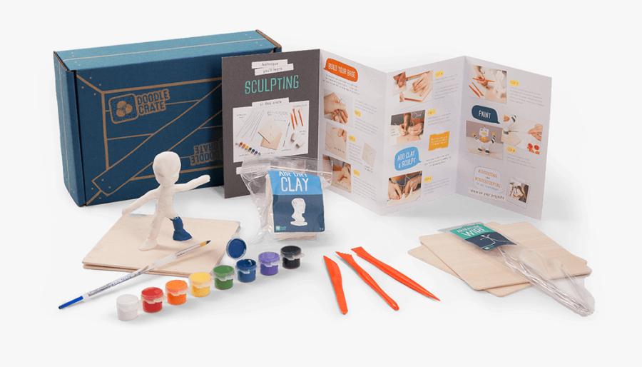 Kiwi Crate Steve Png Space Clip Art Free Download - Doodle Crate Subscription Box, Transparent Clipart