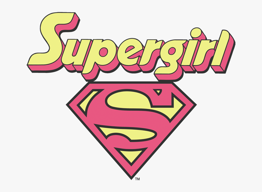 Pink Supergirl Logo Png Free Transparent Clipart Clipartkey