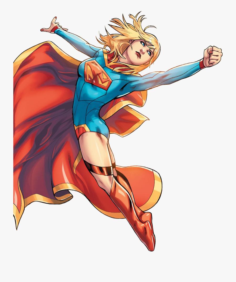 Supergirl Comic Transparent Background - Happy Birthday Kara Supergirl, Transparent Clipart
