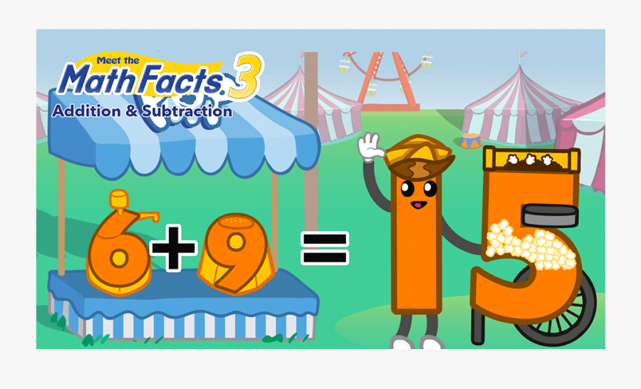 Meet The Math Facts Multiplication & Division Level, Transparent Clipart