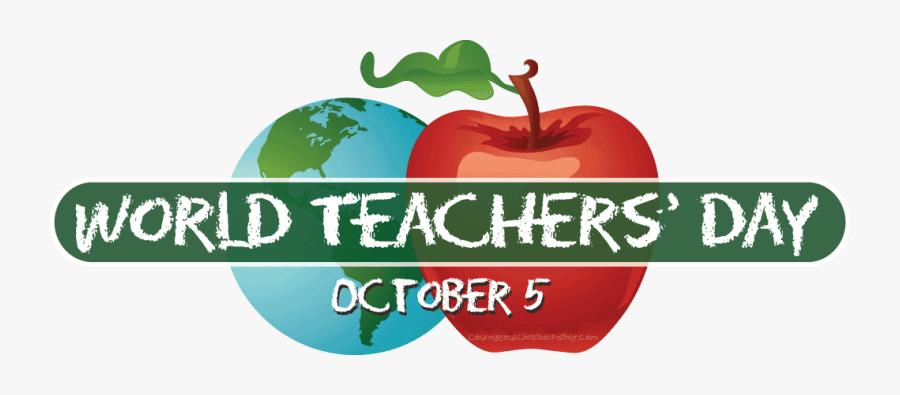 World Teachers Day 2019 Stickers - World Teachers Day 2019, Transparent Clipart