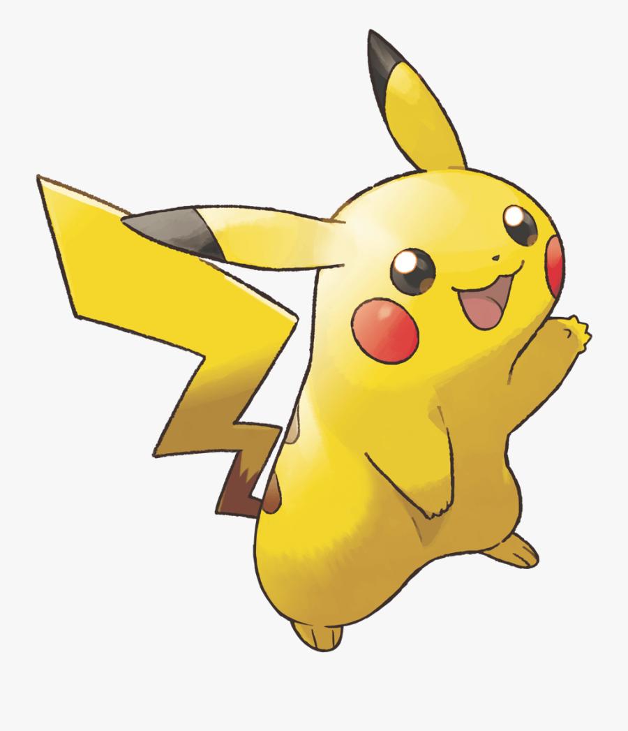 Transparent Pickachu Png - Pikachu Lets Go Art, Transparent Clipart