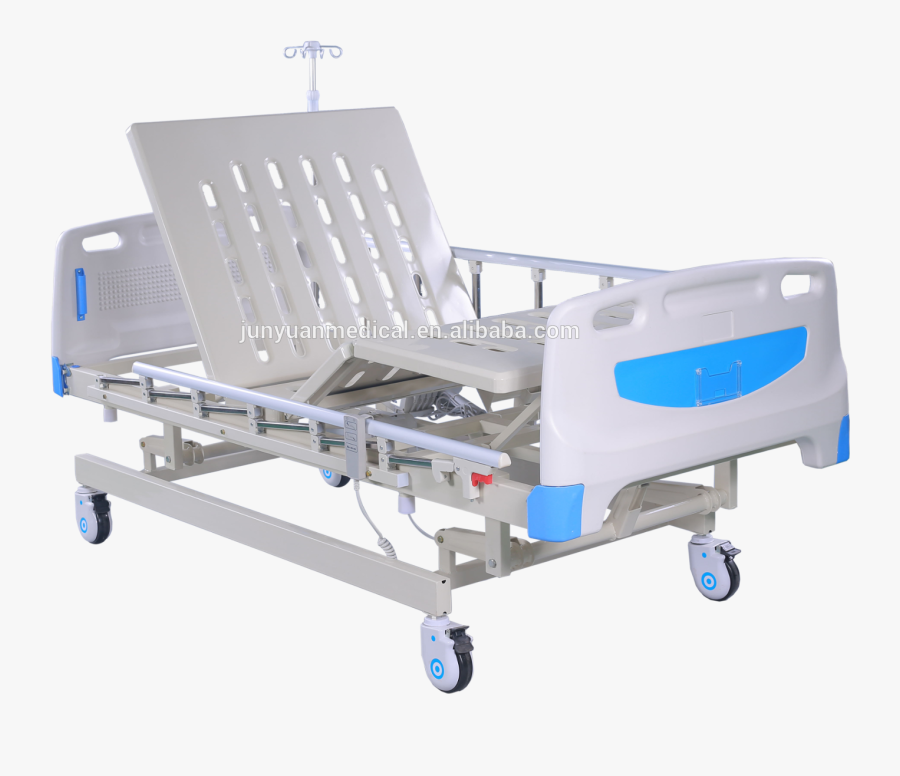 Bed Electric 3 Function Height Adjust Icu Hospital - Hospital, Transparent Clipart