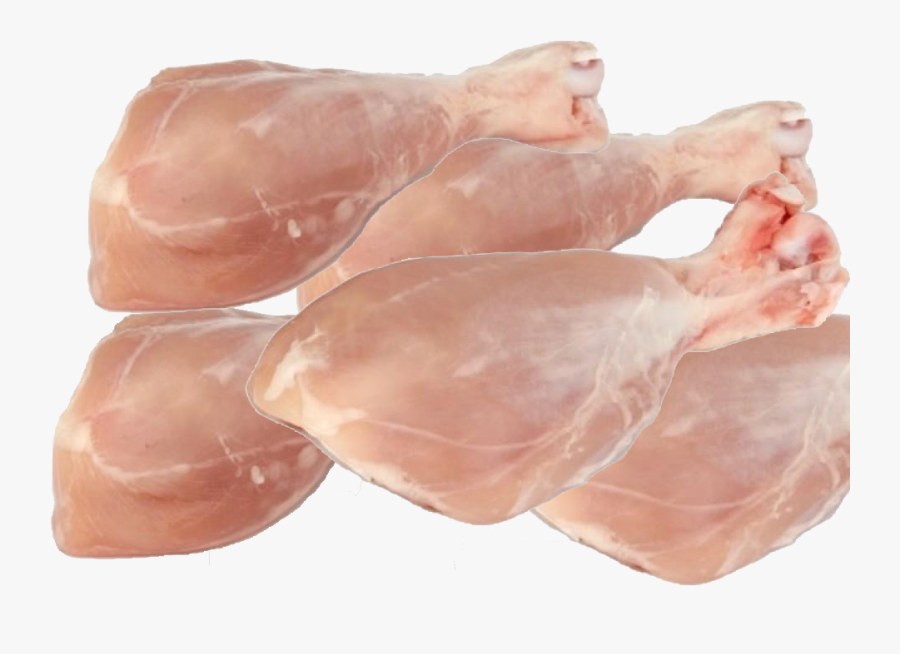 Transparent Chicken Leg Png - Raw Chicken Leg Piece, Transparent Clipart