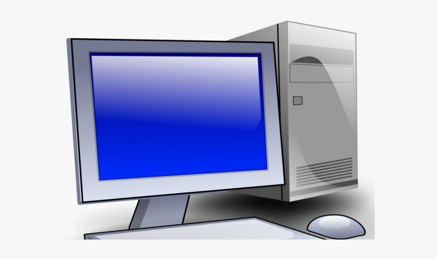 Desktop Computer Clipart, Transparent Clipart