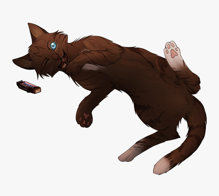 Brown Cat With Blue Eyes Drawing - Dark Brown Cat Drawing, Transparent Clipart
