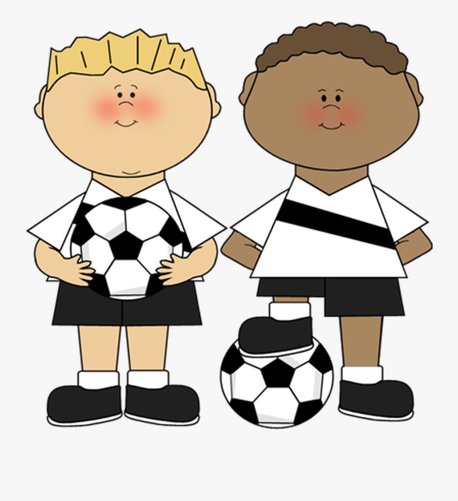 Clipart Boy Football - Girl Sport Clipart, Transparent Clipart