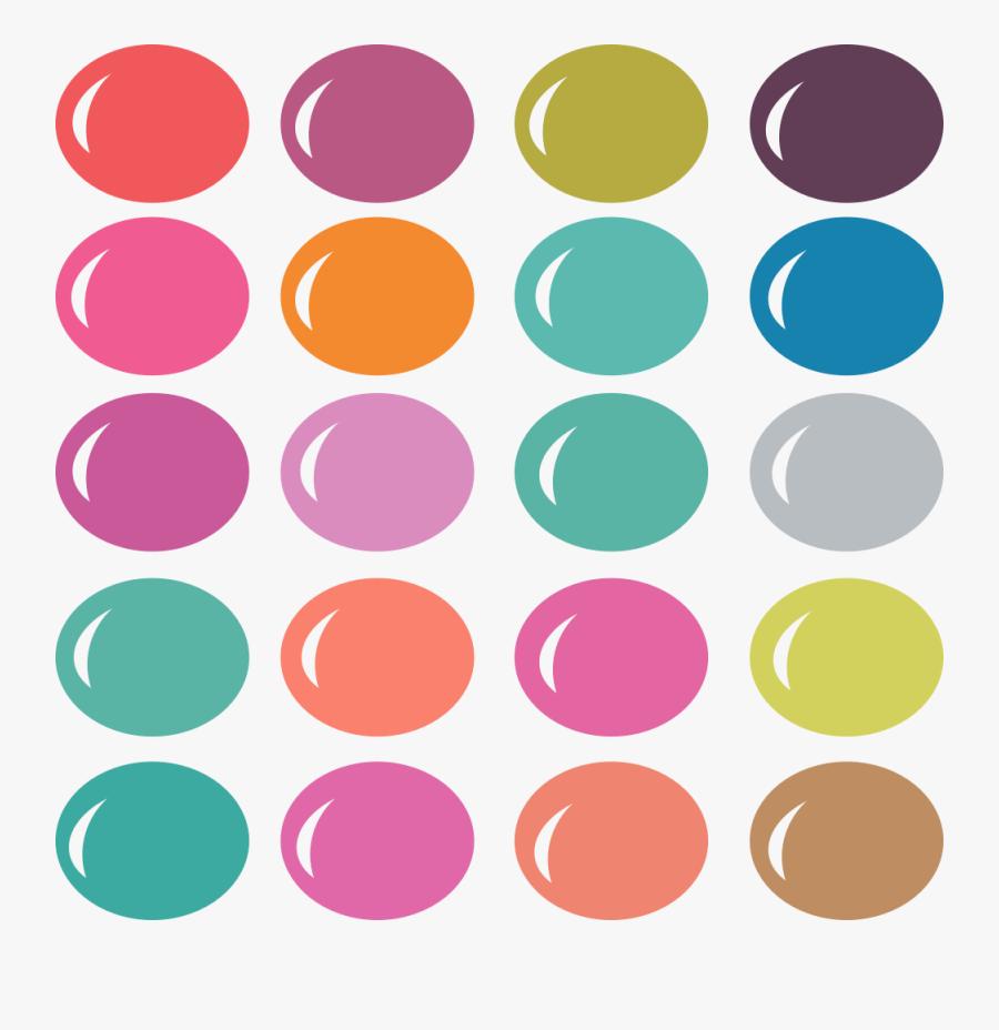 Palette Clipart Color Palette - Shades Of Gray Palette, Transparent Clipart