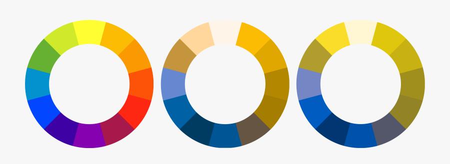 Colors Clipart Color Palette - Colour Blind Colour Wheel, Transparent Clipart