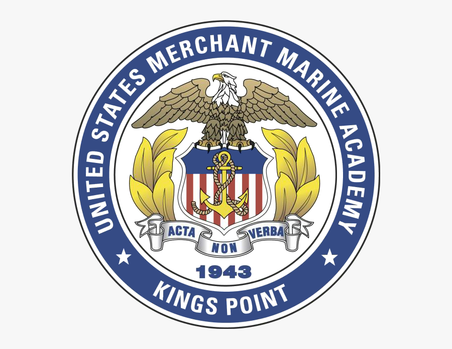 Marines Seal Png - United States Merchant Marine Academy Logo, Transparent Clipart