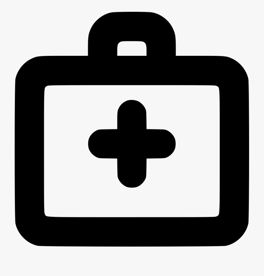 Bag Aid Cure Doctor Help Hospital Med - Doctor Bag Icon Free, Transparent Clipart