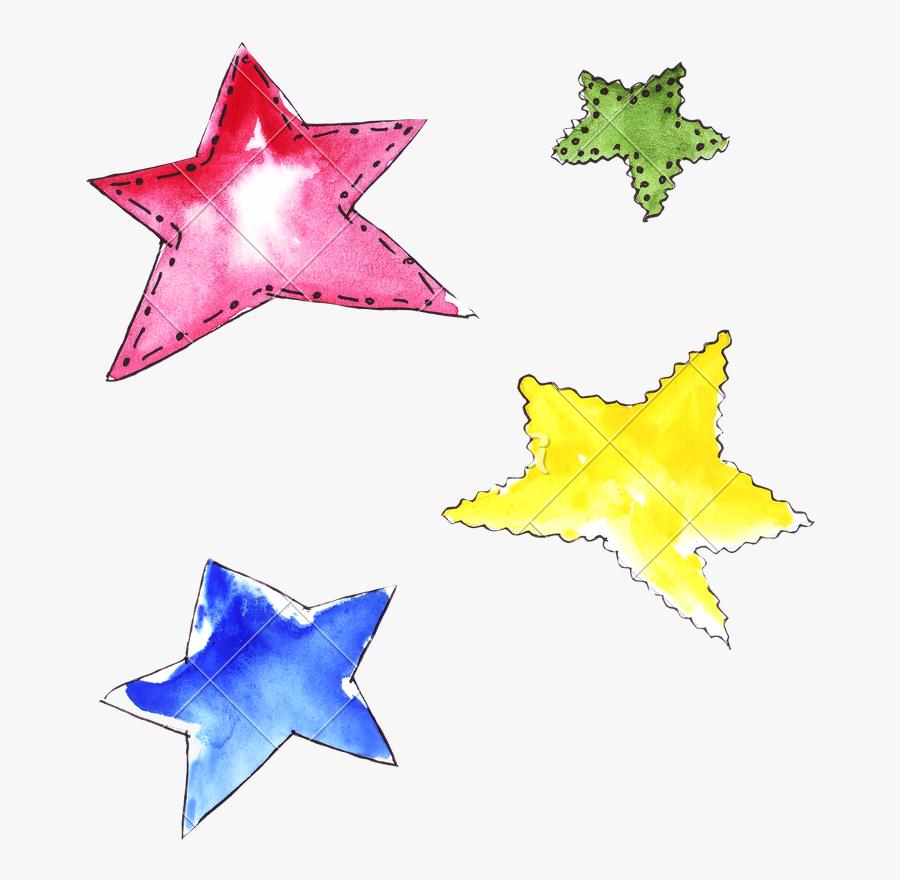 Clip Art Decorative Stars, Transparent Clipart