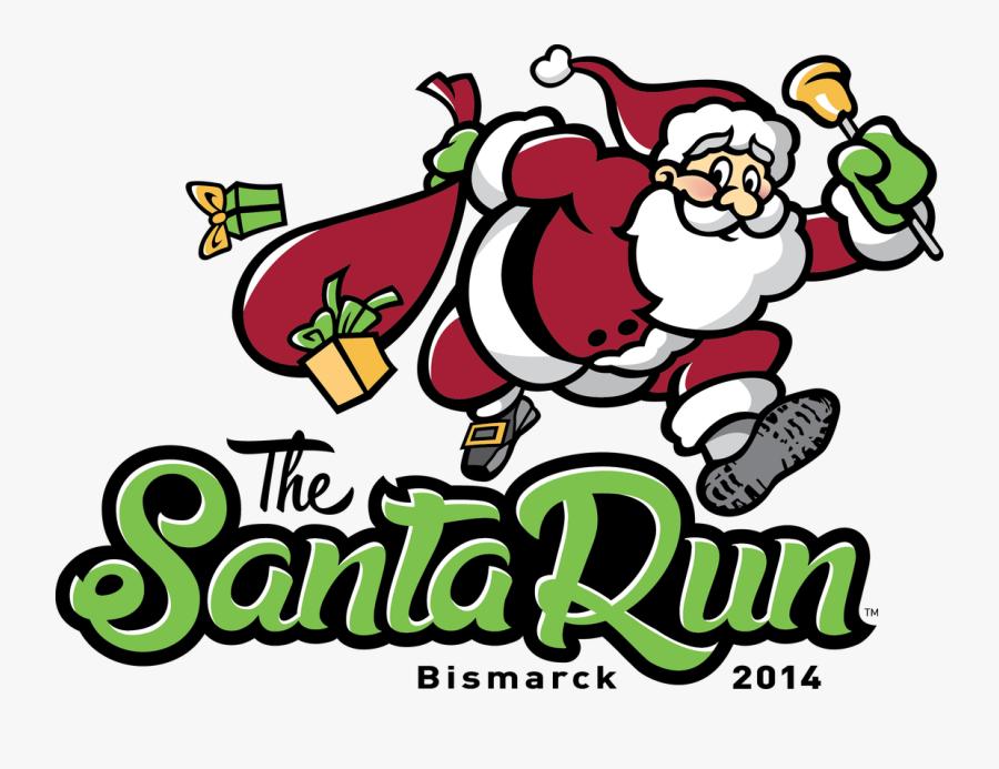 Timed 5k Fun Run/walk Around The Beautiful State Capitol - Santa Run, Transparent Clipart